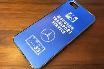 iPhone5s用アルミケース
