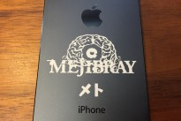 iPhone5s本体直接刻印