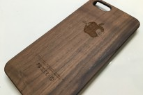iPhone6用ウッドケース