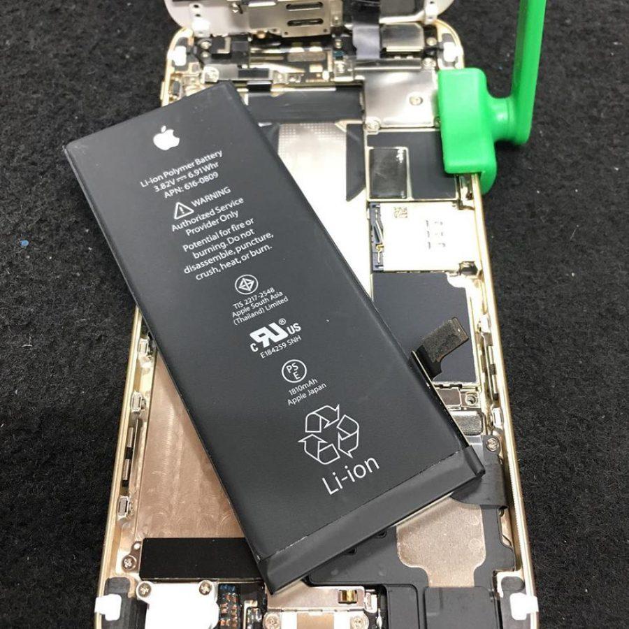 スマホ バッテリー 交換